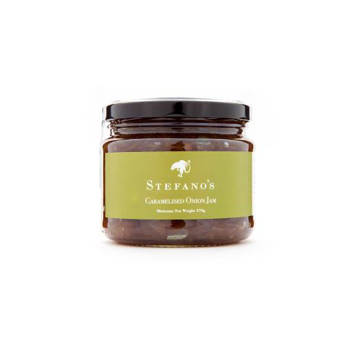 Jar of Stefano's Caramelised Onion Jam