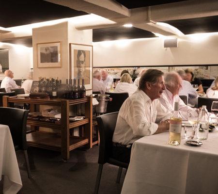 Stefano's Restaurant dining room, Mildura