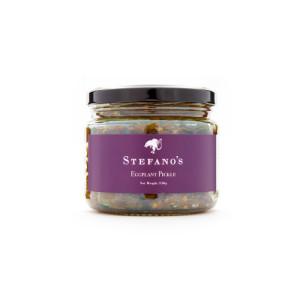 Jar of Stefano's Eggplant Pickle