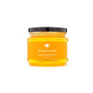 Jar of Stefano's Orange Blossom Honey