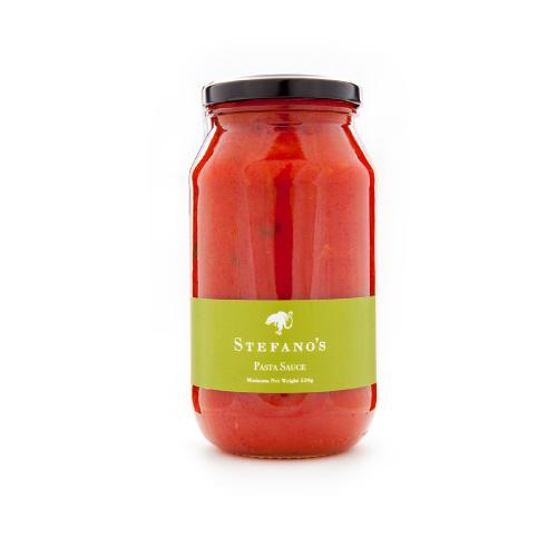 Jar of Stefano's Pasta Sauce