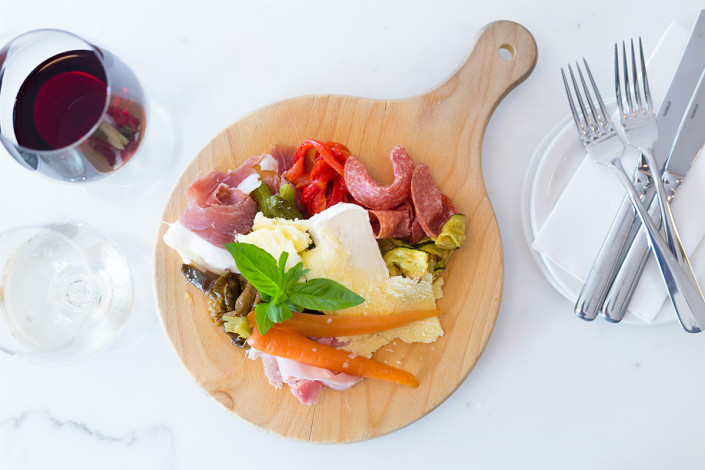 Antipasto at Stefano's Cafe, Mildura