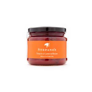 Jar of Stefano's Tomato Capsicum Relish