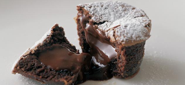 Chocolate tortino