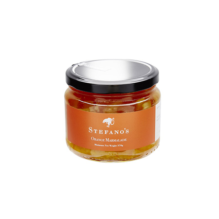 Jar of Stefano's Orange Marmalade