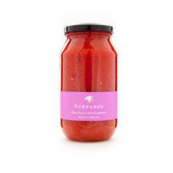 Jar of Stefano's Pasta Sauce with Aubergine